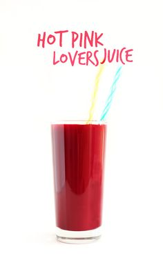 Hot Pink Lovers Juice! 6 fruit and veg in ONE amazing juice | minimalistbaker.com