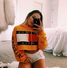 I would love this sweater with some high waisted mom jeans ... yes