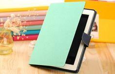 Stand Fresh Mint Flip Leather iPad Air caseCute ipad by cclovediy