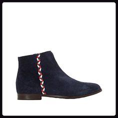 ef516d38e86ec R Studio Womens Leather Plaited Detail Ankle Boots