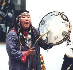 Chukchi people Female Kam(Shaman).