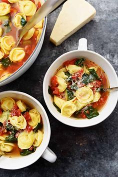 Jump to Recipe Print RecipeVegetable Tortellini Soup Recipe – This quick and easy vegetable tortellini soup comes together in minutes for a flavorful soup recipe loaded with vegetables and delicious bites of tortellini.  Can you guys tell that I really love soup? It is one of my favorite things to have for a cozy lunch …