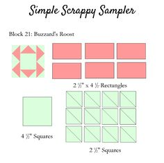 Clover & Violet — Simple Scrappy Sampler {Week 11}