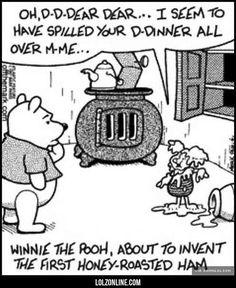 Winnie-the-Pooh's New Recipe Idea