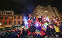 New York City's Village Halloween Parade, United States: No story about fall festivals is complete without mention of Halloween.