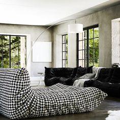 TOGO Armchairs designed by Michel Ducaroy #ligneroset #lignerosetsfhttp://www.lignerosetsf.com/