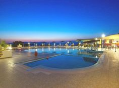 Zorbas Beach Village Hotel || This beachfront hotel is situated in a 30,000-m² area right above Akrotiri peninsula, where the famous movie Zorba The Greek was filmed.
