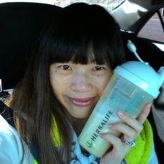 #21dayshakechallenge #round6 #day9 #Vanilla #Shake #Lunch only at #Herbalife #letsdoittogether  When on the go, prepare a shake, shake it, drink it! Takes less than 5 minutes! So convenient!!