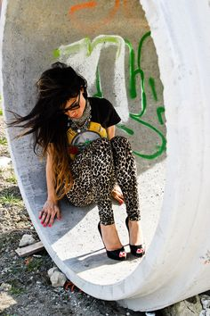 Guns & Roses / Leopard Pants= <3