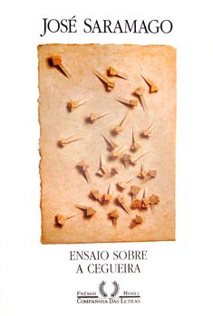 ♥Saramago - Ensaio sobre a Cegueira (Blindness) is my favorite. This is the cover of the edition from Companhia das Letras, Brazil. Cool Books, I Love Books, Books To Read, My Books, Book Writer, Literary Quotes, Book Cover Design, Love Reading, Book Lists