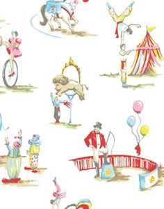 CIRCUS WALLPAPER    At Cath Kidston