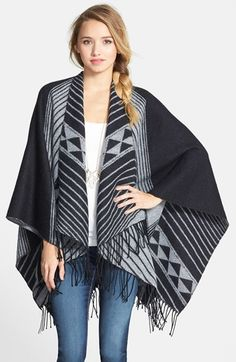 Free shipping and returns on BP. Print Tassel Trim Poncho (Juniors) (Online Only) at Nordstrom.com. A pretty Southwestern print patterns a drapey, fiesta-ready topper finished with long tassel trim.
