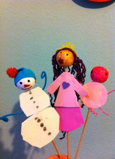 Marionnettes faites un jour de pluie