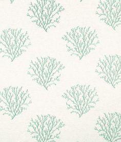 Robert Allen Seacrest Shore Water Fabric