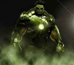 This is way too cool...Hulk in Hulk Buster Armour. #unstoppable