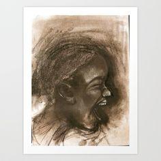 scream #43 Art Print by Yousef Balat @ Hoop Snake Graphics LLC - $17.00
