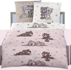 Nici Bed linen Winter Bears flanell online at Papiton. Bed Linen, Linen Bedding, Bears, Winter, Clothing, Accessories, Home, Bed Linens, Linen Sheets