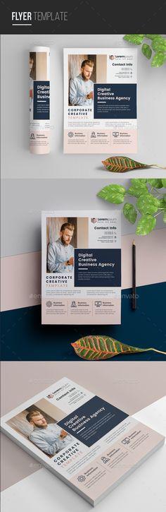 Corporate Flyer. Customizable business flyer template. #a4 #abstract #AbstractFlyer #advert #advertisement #agency #AgencyFlyer #agent #business #BusinessFlyer #clean #CleanDesign #ConferenceFlyer #corporate #creative #editable #FlyerTemplate #GroupStudy #IllustratorFlyer #marketing #MeetupFlyer #MinimalFlyer #MinimalistFlyer #multipurpose #MultipurposeFlyer #NaturalFlyer #PosterTemplate #promotion #PromotionFlyer Find Fonts, Business Flyer Templates, A4 Paper, Corporate Flyer, Party Flyer, Clean Design, Creative Design, Promotion