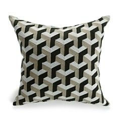 "Mitchell Gold + Bob Williams Graphic Pillow, 24"" x 24"""