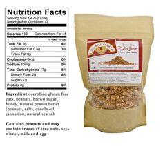 Nuts About Granola, York, PA -- Gluten free ingredients!