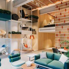 Nuevo Showroom Kettal. Proyecto @PUrquiola. // Kettals new showroom Barcelona. Photography: @salvalopez #nuevo#showroom#rediseño #urquiola #tienda #store #barcelona #proyecto #muebles #outdoorfurniture #mueblexterior #diseño #design