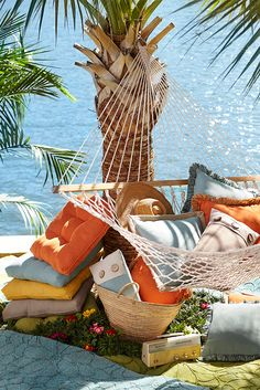 Pier 1's outdoor cushions and pillows are built to stand up to the elements, but they're soft and stylish enough to be at home in your living room, too. Choose from bright and bold solids, intricately embroidered outdoor pillows and comfortable outdoor chair cushions, all UV-resistant to retain their colors.