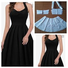 Basic skater dress pattern Order by lineDiscover recipes, home ideas, style inspiration and other ideas to try. Diy Clothing, Sewing Clothes, Dress Sewing Patterns, Clothing Patterns, Pattern Sewing, Fashion Sewing, Diy Fashion, Diy Vetement, How To Make Clothes
