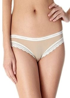 f2889 Perfectly Fit Flirty Low Rise Bikini With Lace by Calvin Klein Lingerie