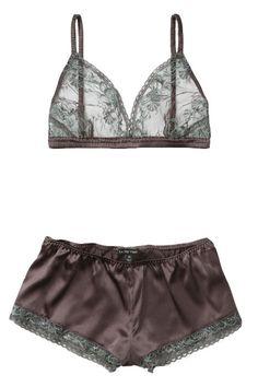 La Fee Verte #grey #lingerie
