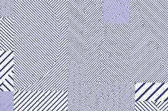 Geometric pattern work by Kokoro & Moi for Helsinki based architecture firm ALA. #Branding #Design #Architecture