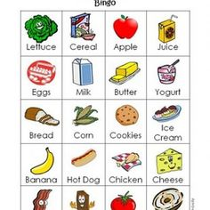 Shop With Me Bingo (Printable Bingo Cards for Kids)