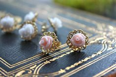 Blooming Flower Filigree Earrings by IndieAndChic on Etsy, $12.50
