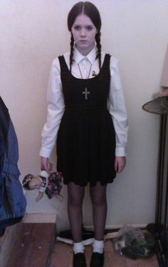 Wednesday The Addams Family halloween costume