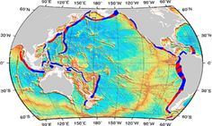 By analysing regions where fracture and subduction zones meet, researches created a map of areas prone to great earthquakes.