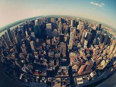 New York City Skyline - Twisted Sifter / XXCHANGE / Photography / Art