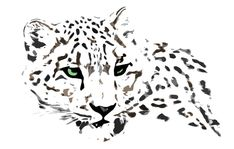 snow leopard by kurka-designs