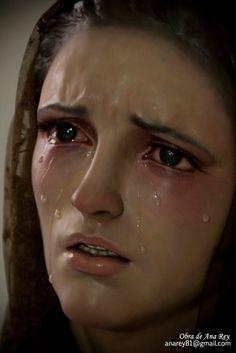 Perdón MARÍA , es nuestro pecado, que tanto dolor te ha causado !!!
