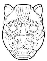 Colorear Los mayas tenían grandes conocimientos