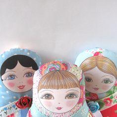 Matryoshka Doll Olga