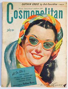 Cosmopolitan magazine, JULY 1945 Artist: Bradshaw Crandell