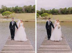 REAL WEDDING I Kim and Max's Wedding-The Groom and Bride wearing Ferrari Formalwear