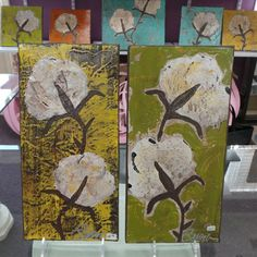 Art by Susan Hood at More Than Words in Germantown (Merchant Circle, West St.)