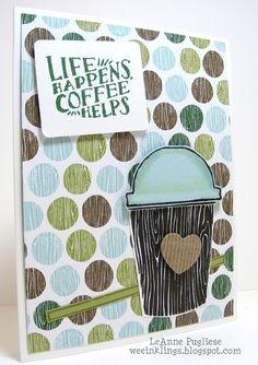 LeAnne Pugliese WeeInklings Stampin Up Coffee Cafe