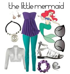 Little Mermaid inspired look~casual