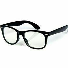 Fake glasses So cute!! Fake wayfarer style clear glasses. Perfect for that wannabe smart look lol. Very stylish and fun to wear. Unisex Accessories Glasses