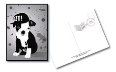 100 postcards is a personal challenge to design 100 different postcard designs by Graphic Designer Tara Andrews in Halifax, Nova Scotia. Postcard Design, Postcards, Puppies, Graphic Design, Projects, Baby Dogs, Pup, Puppys, Teacup Puppies