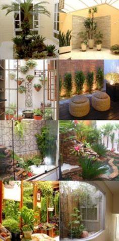 Para quem tem pouco espaço e sonha com um belo jardim dentro de casa, trago boa notícia: é possível sim trazer o verde para perto.  Espaços pequenos são perfeitos para usar e abusar de vasos ou jardineiras.
