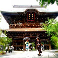Kencho-ji zen temple in Kamakura, Japan