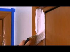 How to paint trim -- Ace Hardware Paint Trim, Farmhouse Renovation, Wall Trim, Martha Stewart Crafts, Ace Hardware, Diy House Projects, Do It Yourself Home, Basement Remodeling, Room Paint