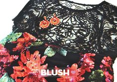 El rojo y el negro son clásicos, pero juntos ¡son una explosión! Atrévete a usar este #BlushMatch. <3